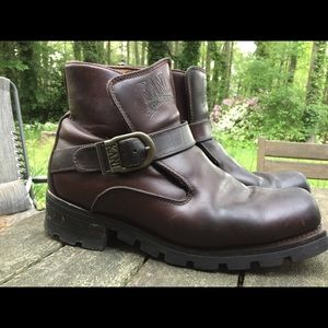 04b750ad83c8 Other - Vintage Karl Kanu Men s Motorcycle Harness Boots🌿